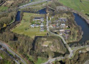Fort Blauwkapel luchtfoto